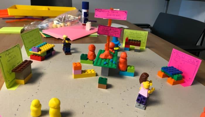 Lego Prototyp bunt