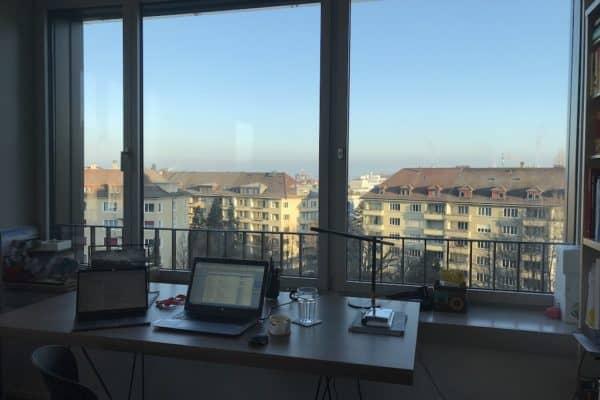 Bild eines Home Office Arbeitsplatzes