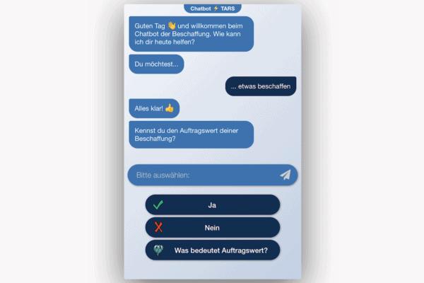 Chatbot Beschaffung
